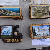 Сувениры и подарки ручной работы. Ярмарка Мастеров - ручная работа Магниты из дерева. Handmade.