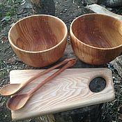 Салатники ручной работы. Ярмарка Мастеров - ручная работа Авторская повседневная посуда из дерева. Handmade.