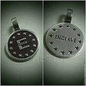 "Украшения handmade. Livemaster - original item Кулон ""Enclave"". Handmade."