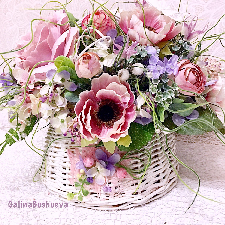 Цветы шебби-шик