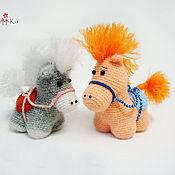 Куклы и игрушки ручной работы. Ярмарка Мастеров - ручная работа Пончик и Пушок. Handmade.