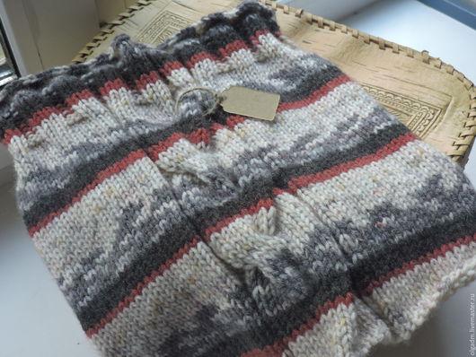 Шарфы и шарфики ручной работы. Ярмарка Мастеров - ручная работа. Купить Снуд-хомут. Handmade. Разноцветный, вязание спицами