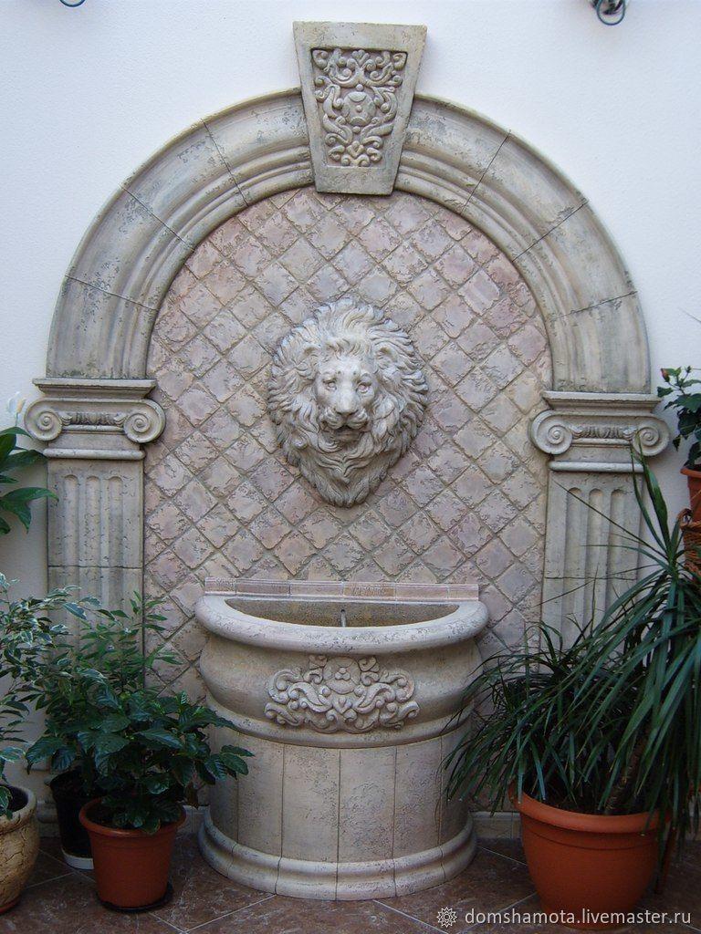 Пристенный фонтан, Пруды и фонтаны, Щелково,  Фото №1