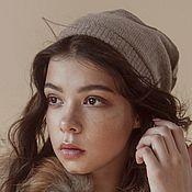 Аксессуары handmade. Livemaster - original item Cashmere hat Better. Handmade.
