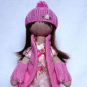 Куклы и игрушки ручной работы. Ярмарка Мастеров - ручная работа Текстильная кукла Lilou. Handmade.