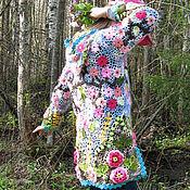 """Одежда ручной работы. Ярмарка Мастеров - ручная работа Пальто """"Цветущий сад"""". Handmade."""