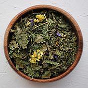 Композиции ручной работы. Ярмарка Мастеров - ручная работа Травяной чай «Липовый сад».. Handmade.