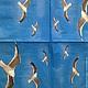 Чайки и синее небо (салфетка для декупажа) - 246 Декупажная радость