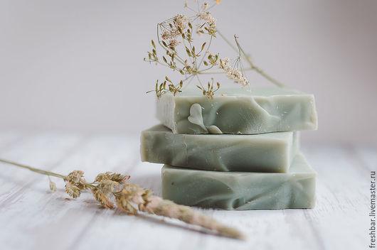 """Мыло ручной работы. Ярмарка Мастеров - ручная работа. Купить Мыло """"Пряные травы"""" натуральное с нуля. Handmade. Оливковый, мыло"""