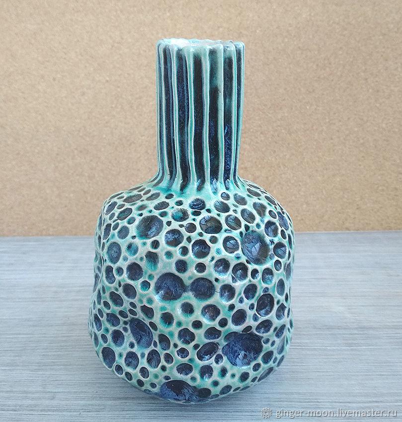 Вазы ручной работы. Ярмарка Мастеров - ручная работа. Купить Керамическая ваза. Handmade. Керамика, ваза для цветов, для интерьера, вазочка