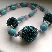 Украшения handmade. Livemaster - original item Necklace - beads