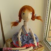 Куклы и игрушки ручной работы. Ярмарка Мастеров - ручная работа Большая Пеппи.. Handmade.