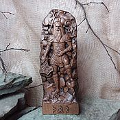 Для дома и интерьера handmade. Livemaster - original item Wooden statuette of Thor, the Norse God. Handmade.