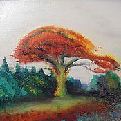 Картины и панно ручной работы. Ярмарка Мастеров - ручная работа Осень приходит. Handmade.