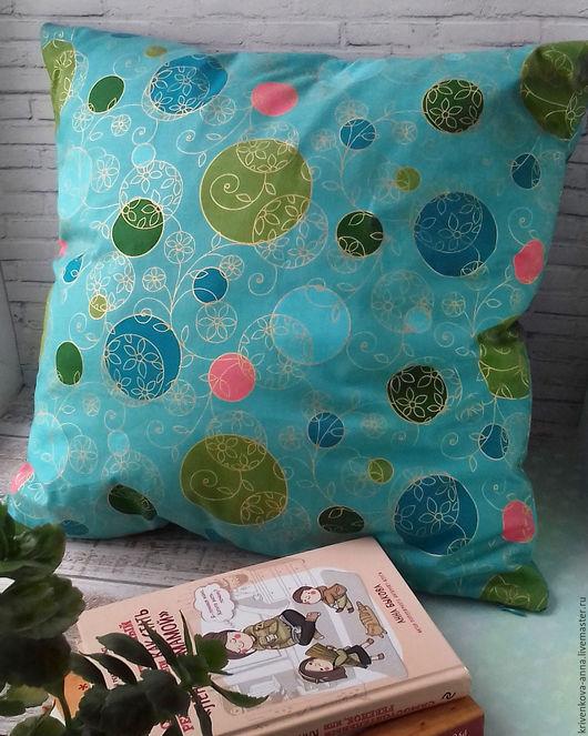 Текстиль, ковры ручной работы. Ярмарка Мастеров - ручная работа. Купить Декоративная подушка. Handmade. Морская волна, подушка детская