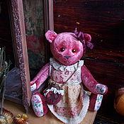 Куклы и игрушки ручной работы. Ярмарка Мастеров - ручная работа Мишка Тедди-девочка, Розочка,авторская мишутка.. Handmade.