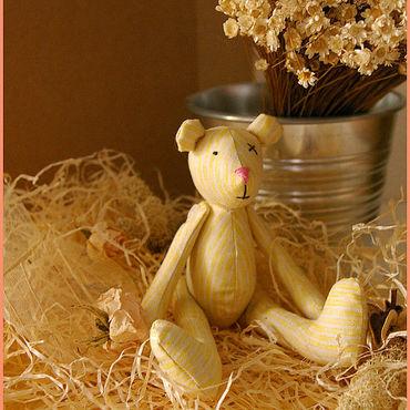 Куклы и игрушки ручной работы. Ярмарка Мастеров - ручная работа Медвежонок Vanilla. Handmade.