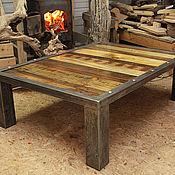 Для дома и интерьера ручной работы. Ярмарка Мастеров - ручная работа Кофейный стол в стиле Industrial. Handmade.
