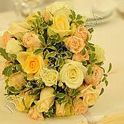 """Свадебный салон ручной работы. Ярмарка Мастеров - ручная работа Букет невесты """"Нежный цвет"""". Handmade."""