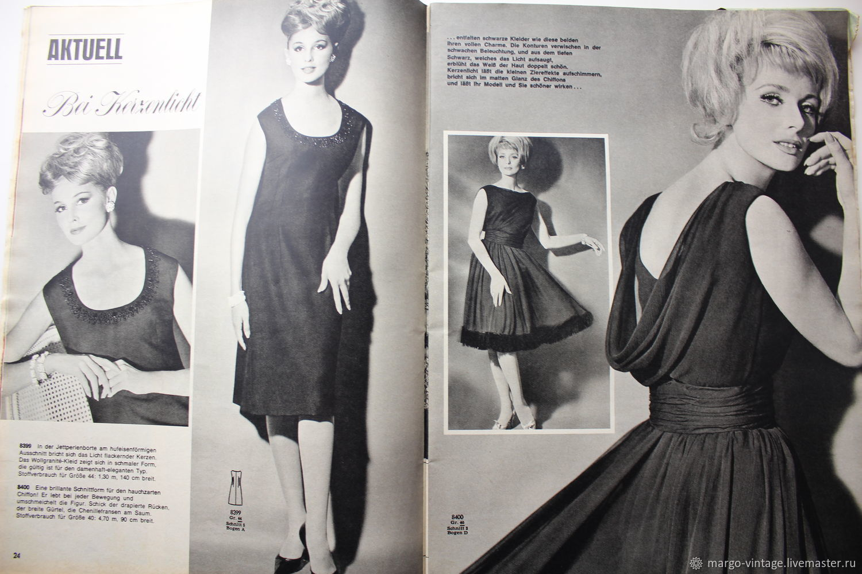 Vintage kleid burda