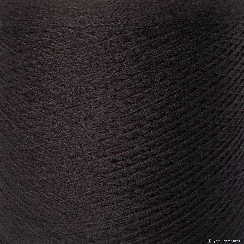 Пряжа Кашемир 2/28 темно-коричневый – купить на Ярмарке Мастеров – NNY6IRU | Пряжа, Санкт-Петербург