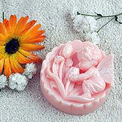 """Косметика ручной работы. Ярмарка Мастеров - ручная работа Сувенирное мыло """"Фея цветов"""". Handmade."""