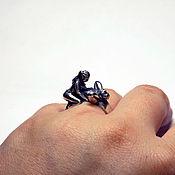 """Украшения ручной работы. Ярмарка Мастеров - ручная работа Серебряное кольцо """"Секс"""". Handmade."""