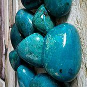 Материалы для творчества handmade. Livemaster - original item Chrysocolla,malachite (large tumbling )Republic of Peru ( South America). Handmade.