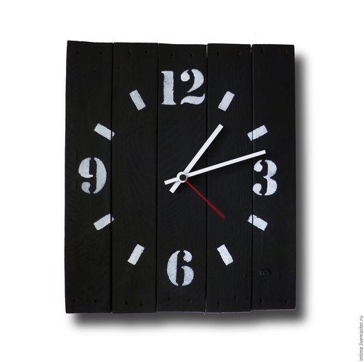 Часы для дома ручной работы. Ярмарка Мастеров - ручная работа. Купить Черно-белые часы. Handmade. Настенные часы