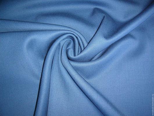 Шитье ручной работы. Ярмарка Мастеров - ручная работа. Купить Итальянская костюмная шерсть синего цвета. Handmade. Синий