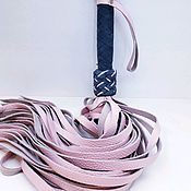 """Плетка ручной работы. Ярмарка Мастеров - ручная работа Плетка, флоггер, плеть из кожи, плетка кожаная  """"Сияние"""". Handmade."""