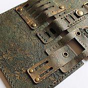 """Канцелярские товары ручной работы. Ярмарка Мастеров - ручная работа """"Железная"""" обложка для паспорта. Handmade."""