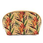 Сумки и аксессуары handmade. Livemaster - original item Eco women`s cosmetic bag from Portuguese cork handmade. Handmade.