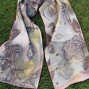 Аксессуары handmade. Livemaster - original item Scarves: Wool scarf. Handmade 132h25cm. Handmade.