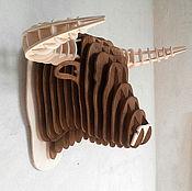 Для дома и интерьера ручной работы. Ярмарка Мастеров - ручная работа Голова быка. Handmade.