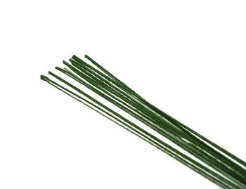 Другие виды рукоделия ручной работы. Ярмарка Мастеров - ручная работа. Купить Проволока №28  - 31 см -  белая, св.-зелёная, зелёная. Handmade.