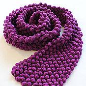 Аксессуары ручной работы. Ярмарка Мастеров - ручная работа ягодный шарф. Handmade.