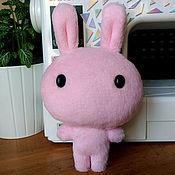 Куклы и игрушки ручной работы. Ярмарка Мастеров - ручная работа Мягкая игрушка заяц Зайка. Handmade.