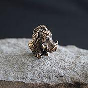 Материалы для творчества handmade. Livemaster - original item Bead for paracord boar ,lanyard bead. Handmade.