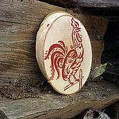 Подарки к праздникам ручной работы. Ярмарка Мастеров - ручная работа петушок на спиле. Handmade.