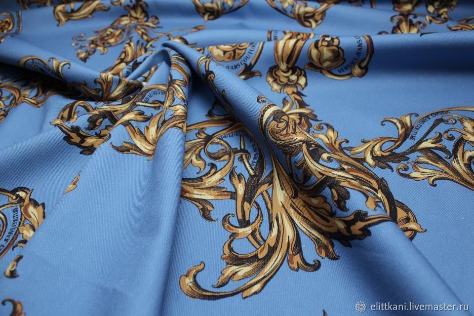 Хлопок джинс Versace Jeans Couture, Ткани, Москва,  Фото №1