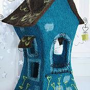 """Для дома и интерьера ручной работы. Ярмарка Мастеров - ручная работа Ночной светильник """"Сказочный домик"""". Handmade."""