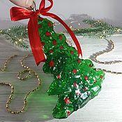 Елочные игрушки ручной работы. Ярмарка Мастеров - ручная работа Елочные игрушки: Подвески: Елочки-подвески. Handmade.