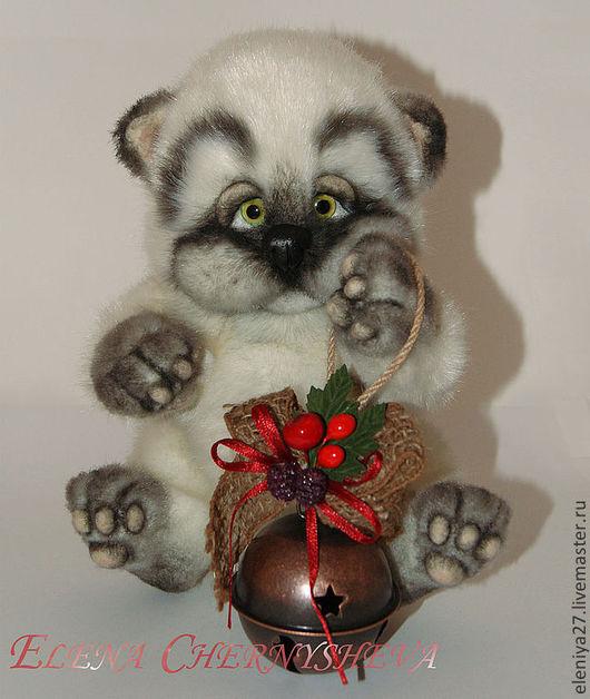 Мишки Тедди ручной работы. Ярмарка Мастеров - ручная работа. Купить Котенок Снежок. Handmade. Белый, подарок на день рождения