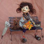 """Куклы и игрушки ручной работы. Ярмарка Мастеров - ручная работа Фуфочка """"Дыхание осени"""". Handmade."""