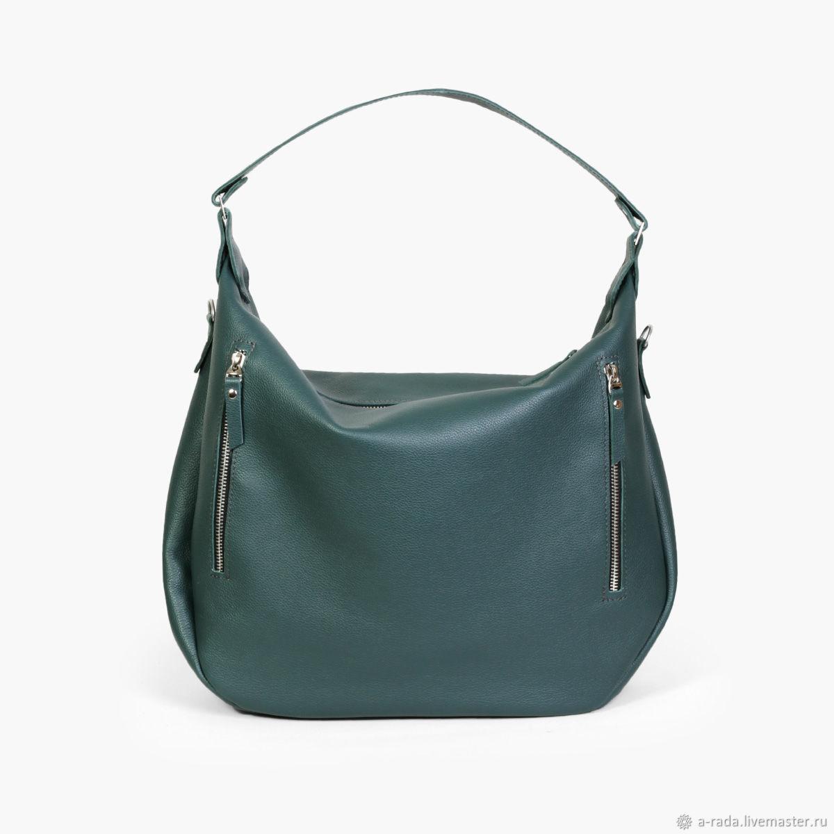 f53f114ea63d Женские сумки ручной работы. Ярмарка Мастеров - ручная работа. Купить  Большая зеленая женская сумка ...