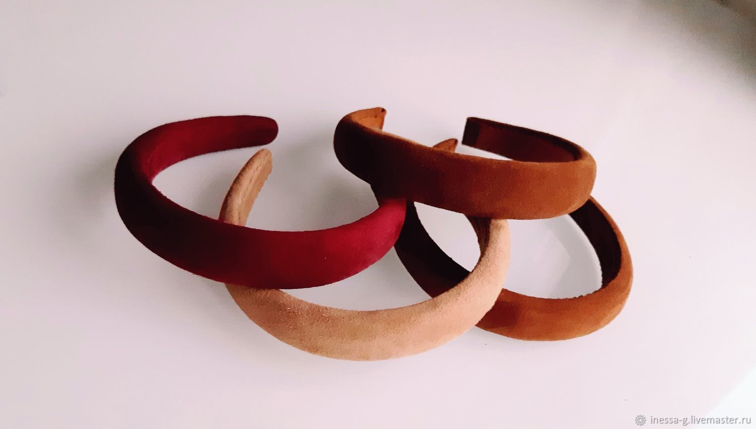 Hair band made of genuine leather, Headband, Moscow,  Фото №1