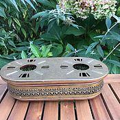 Винтаж handmade. Livemaster - original item The burner is brass copper, the Netherlands. Handmade.