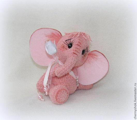 Мишки Тедди ручной работы. Ярмарка Мастеров - ручная работа. Купить Слоник на СЧАСТЬЕ:)). Handmade. Слон, слоник тедди