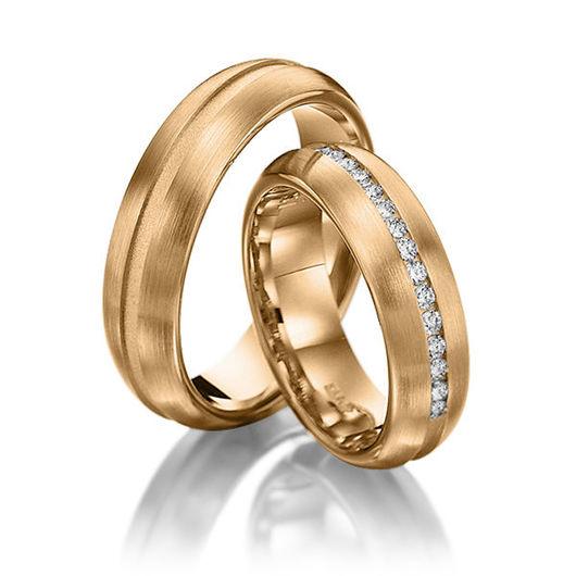 Свадебные украшения ручной работы. Ярмарка Мастеров - ручная работа. Купить Обручальные кольца Rebeca 28-007 NEW. Handmade.